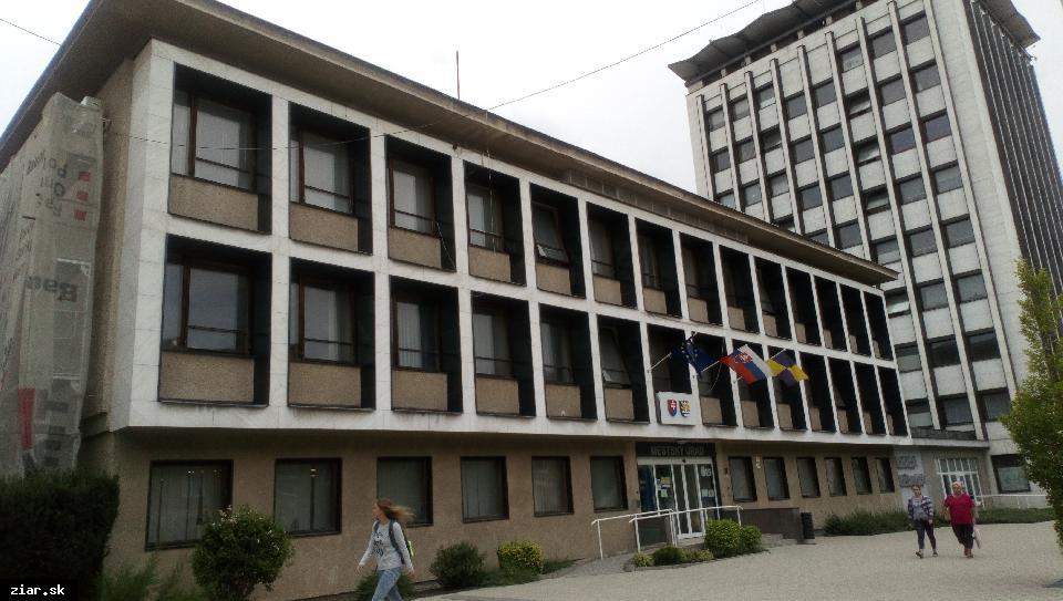 obr: Na zateplenie úradu získalo mesto dotáciu z enviro fondu