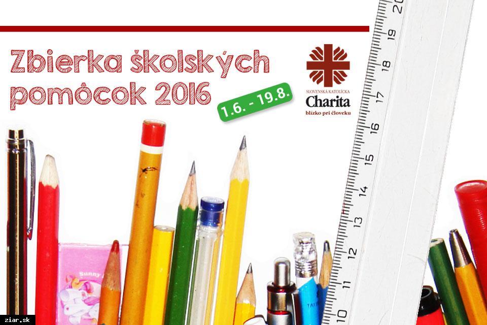 obr: Už 7. ročník Zbierky školských pomôcok
