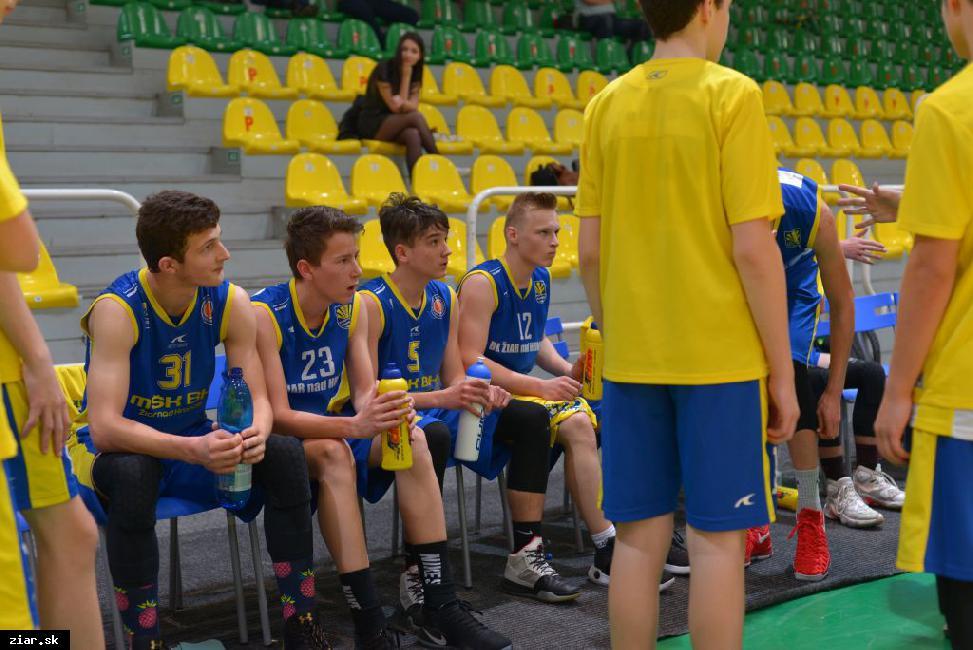 obr: Starší žiaci sa kvalifikovali na finálový turnaj Majstrovstiev Slovenska