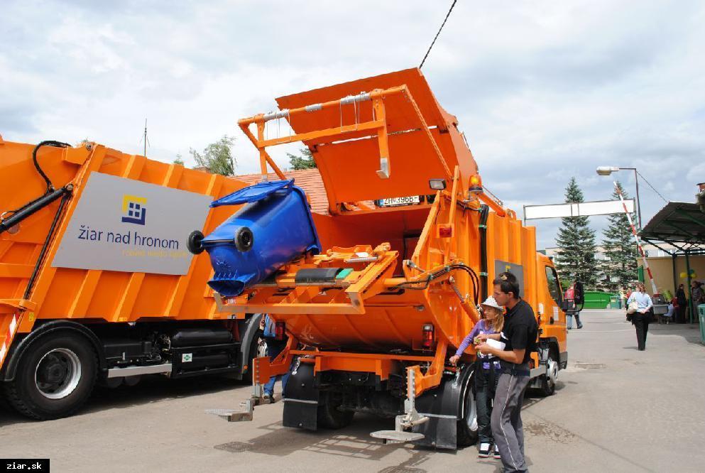 obr: Mesto Žiar nad Hronom sa delí o svoje skúsenosti v triedení odpadu