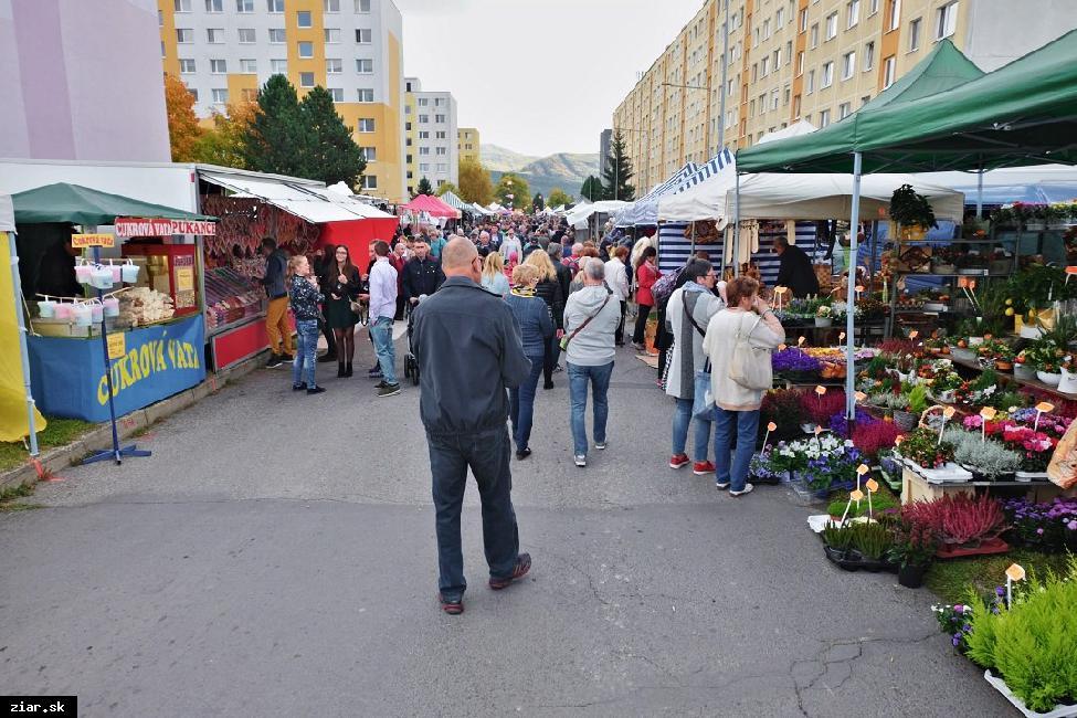 obr: Uzatvorenie ulíc počas Žiarskeho jarmoku 2019