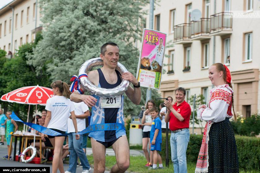 obr: Jubilejný piaty ročník polmaratónu vyhral 51-ročný Vladimír Buchal