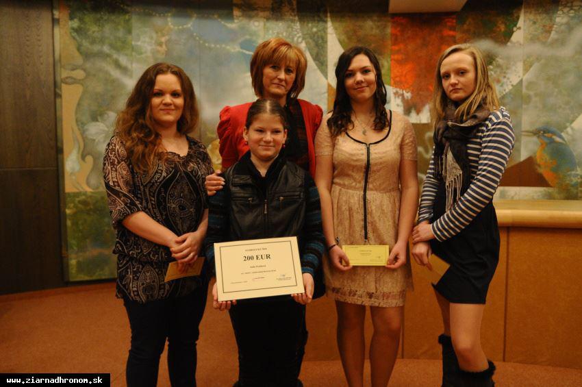 obr: Nadácia ZSNP a Slovalco podporuje mladé talenty už 10 rokov