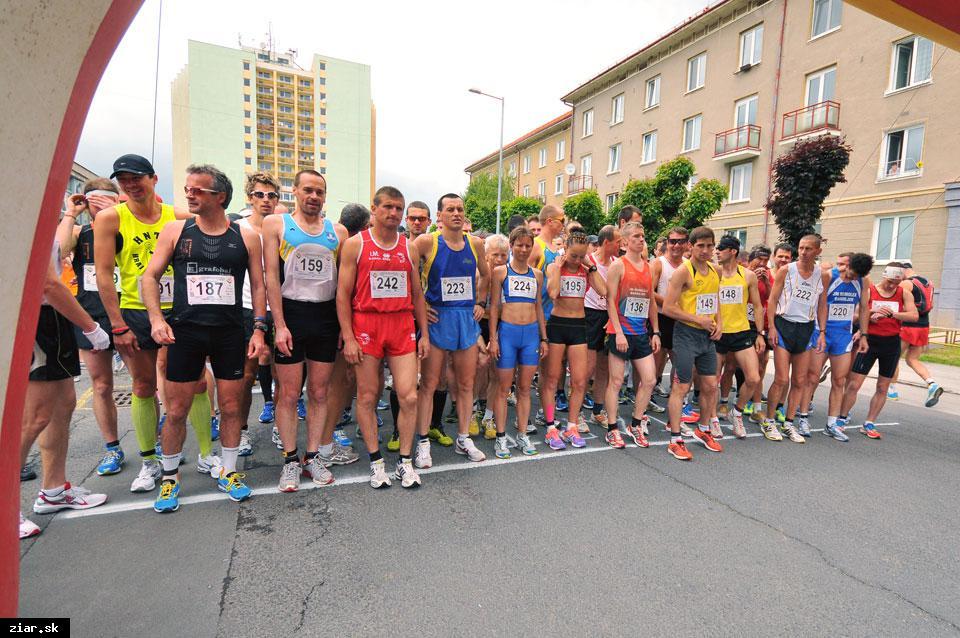 obr: Žiarsky mestský polmaratón už v sobotu 14. mája!