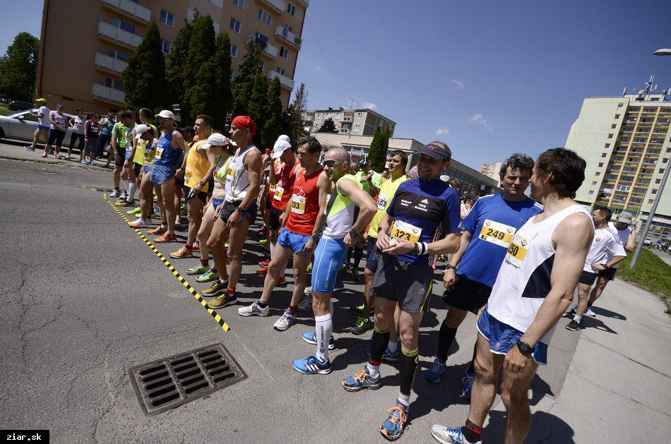 obr: Už 7. ročník Žiarskeho mestského polmaratónu v sobotu, 14. mája