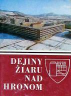 Dejiny Žiaru nad Hronom - obal knihy