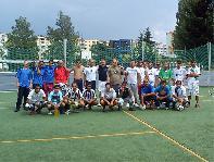 Futbalový turnaj v Detve