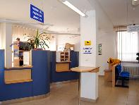 Kancelária prvého kontaktu na prízemí Mestského úradu v Žiari nad Hronom