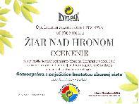 Ocenenie pre mesto od spoločnosti ENVI-PAK