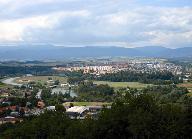 Pohľad na Žiar nad Hronom zo Šibeničného vrchu