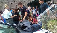 Polícia na Kortíne